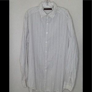 Perry Ellis | Men's Striped | Size XL